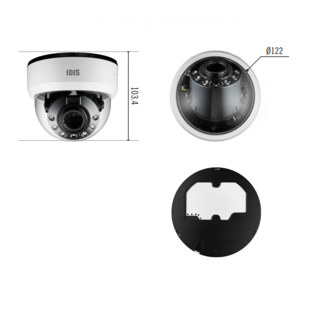 IP-камера IDIS DC-D4223RX
