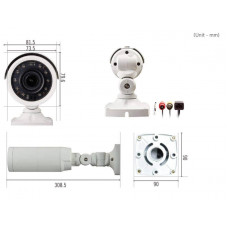 IP-камера IDIS DC-T3233HRX