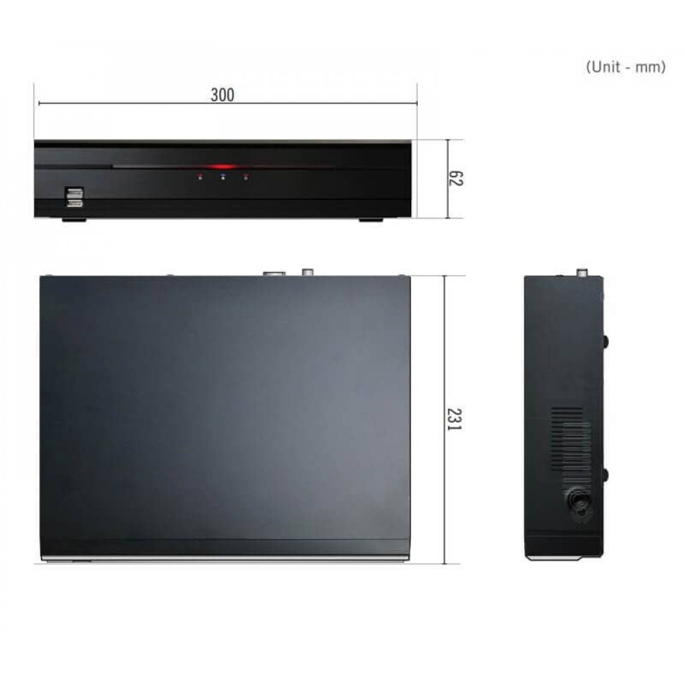 Відеореєстратор IDIS DR-2308P
