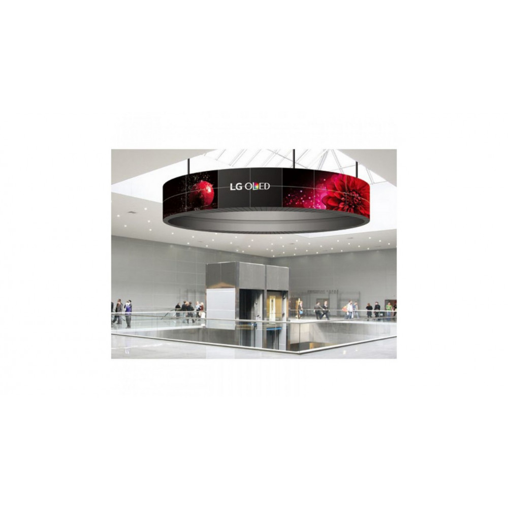 Гнучкий OLED дисплей LG 55EF5C