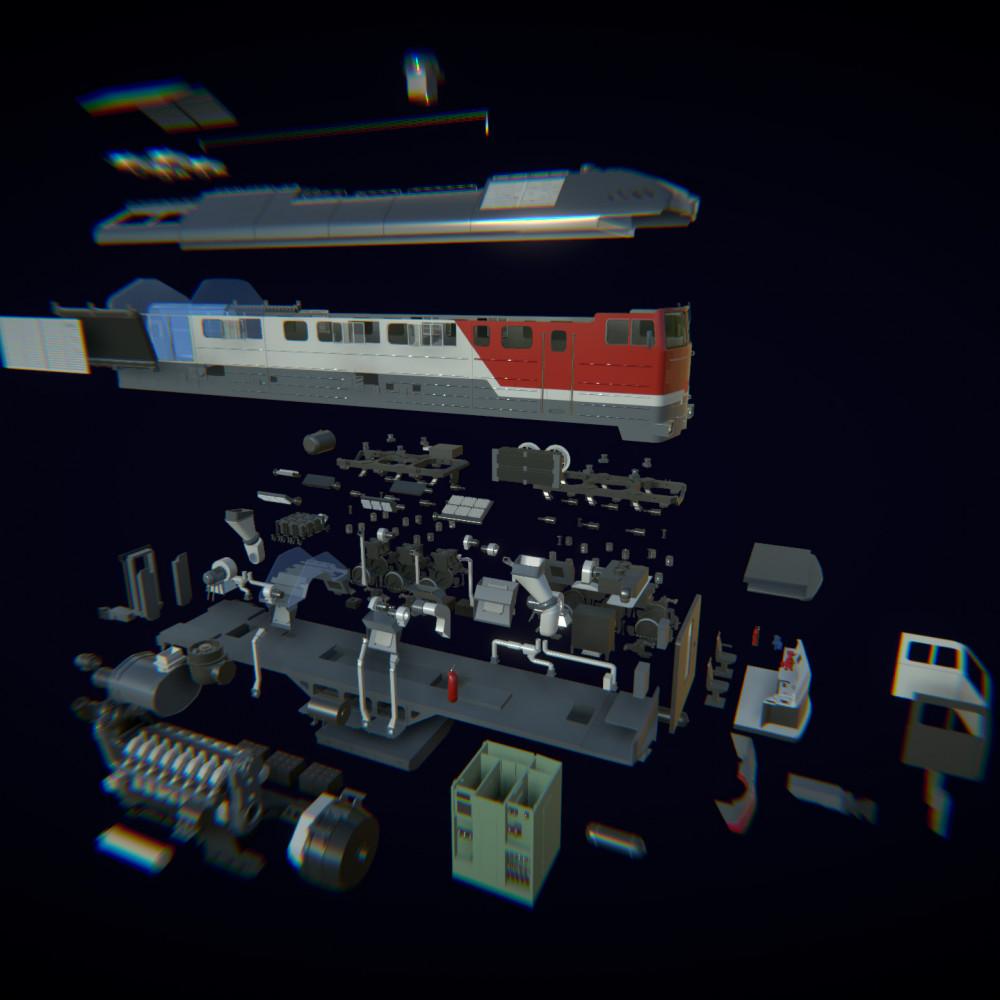Виробниче ПЗ ROQED Mechanicum 3D
