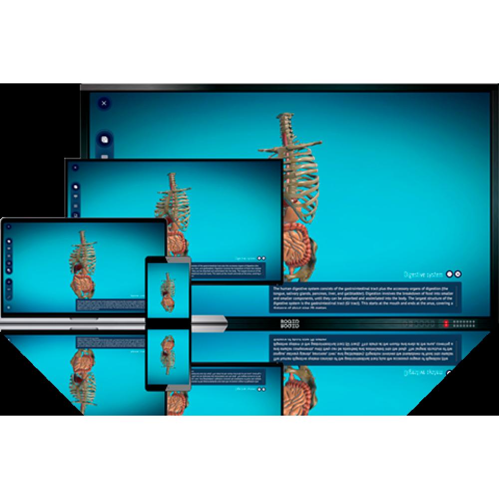 3D програмне забезпечення для освіти ROQED Science